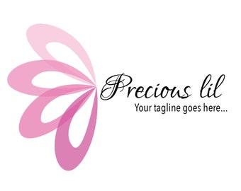 Boutique Logo - Photography Logo - Baby Boutique - Premade Customizable logo - unique Logo Design