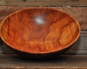 230 Beautiful and rare, figured Apple bowl wood bowl hand turned bowl