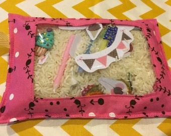 BIRTHDAY ispy/Sensory Bag