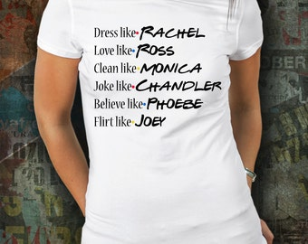 Gift for Friends Birthday, Best Friends Gift Idea, Shirt inspired by TV show Friends, Friends present idea, present for daughter