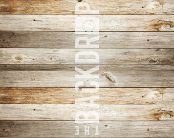 Large Photography Backdrop- Light Planks - 5'x5', 5'x6', 5'x7', 5'x10'