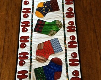 Ho Ho Ho Christmas Table Runner