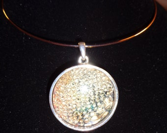 Simply Bold snakeskin necklace