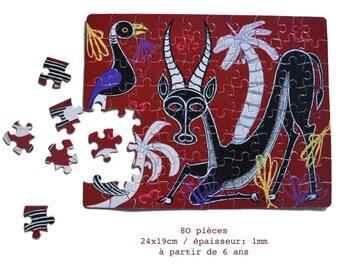 Puzzle Zanzibar ANTELOPE