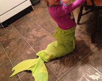 Kids Fabric Mermaid Tail
