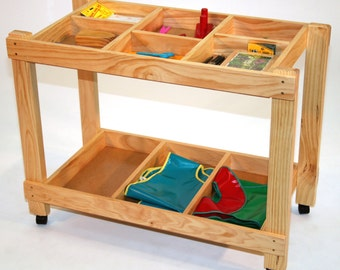 2 Shelves Arts and Craft Trolley