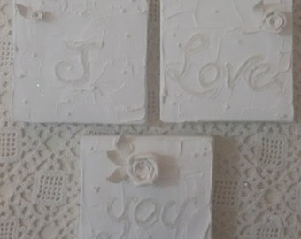 I love you picture, shabby, gift ideas, engagement, weddings