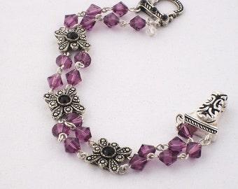 Phantom Bracelet with Swarovski Crystals