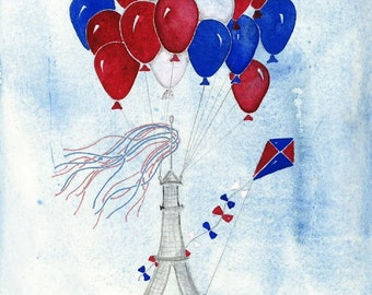 Eiffel Tower Balloons