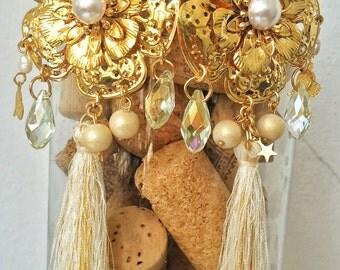 Maxi earrings handmade