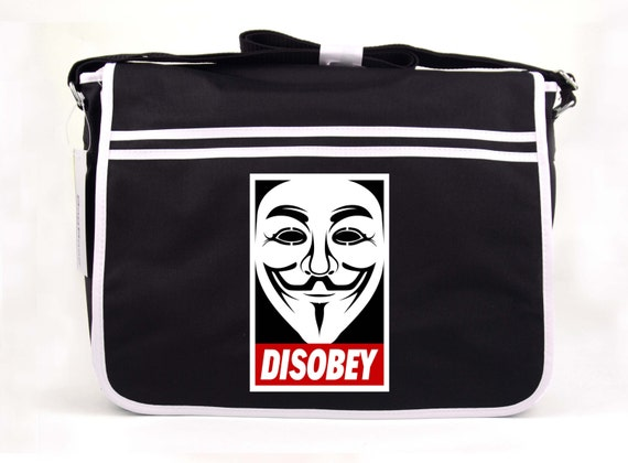 Disobey V For Vendetta Anonymous Mask Guy Fawkes Inspired Mask