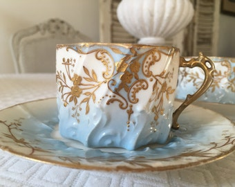 Old tea cups.