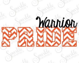Warrior Pride Cut File Warrior svg Warrior Mascot Mascot svg High School Clipart Svg Dxf Eps Png Silhouette Cricut Cut File Commercial Use