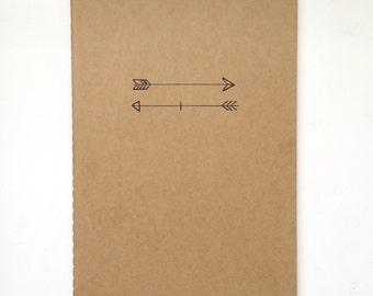 Hand-Drawn Moleskine® Journal- Arrows