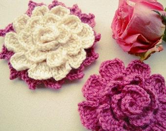 Douceur Crochet Flower Pattern