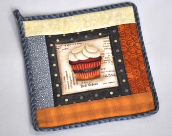 Red Velvet Cupcake Potholder