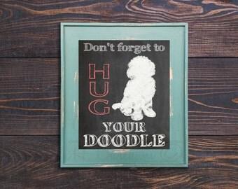 Hug Your Doodle Print
