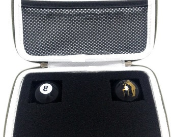 CannaCASE Dab Rig Case - Includes (2) 8 BALL Silicone Dab Containers