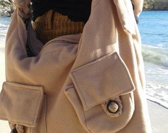 Camel messanger bag