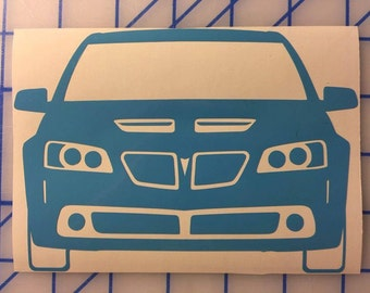 Pontiac G8 GT front end decal *Free Shipping*