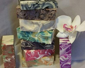 Handmade cold process soaps various