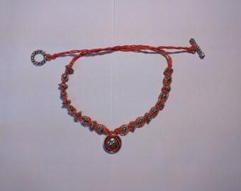 Short hemp necklace