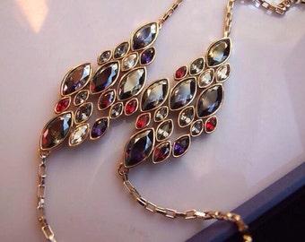 Swarovski Day & Night Long Necklace
