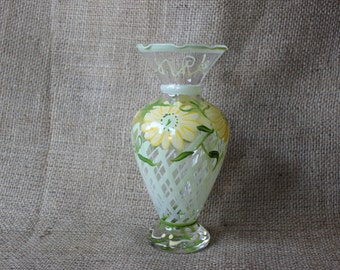 Hand Painted Vase, #380