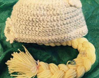 Elsa inspired hat