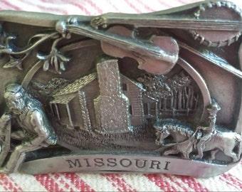 Missouri belt buckle:1984 Siskiyou buckle co inc
