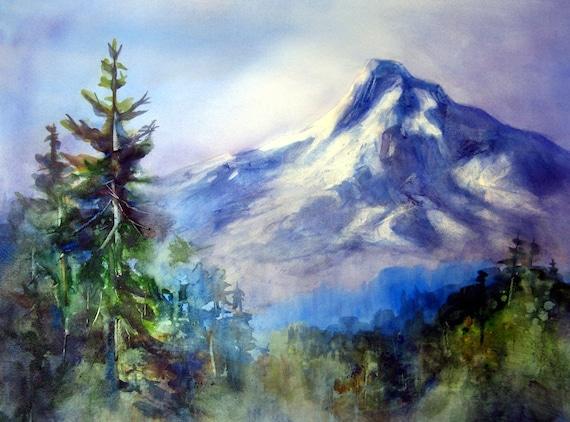 Mt Hood 150 - Mt. Hood - Pacific Northwest - signed print