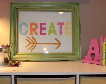 CREATE wallhanging/Playroom/Craft Room/Kids Craft Room