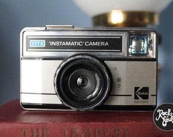 Vintage Kodak 177x Instamatic Camera with Original Case circa 1970s