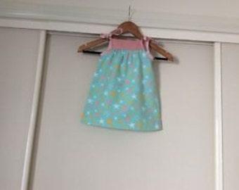 Homemade little girls sundress size 2