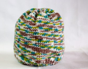 Knit Baby Hat (3-9mo)
