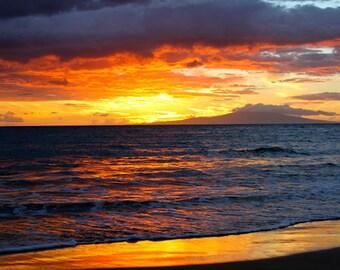 Maui Sunset Photograph