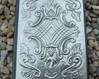A5 Journal with Vintage Style Pewter Detail