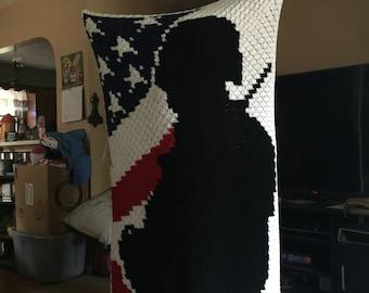 Charismatic Warrior Twin Blanket