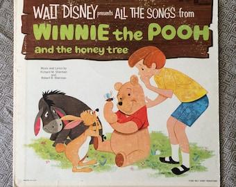 Winnie the Pooh Vintage Record