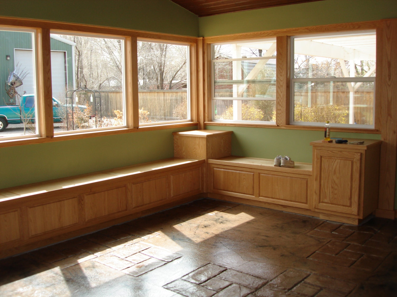 custom window bench storage seats. Black Bedroom Furniture Sets. Home Design Ideas
