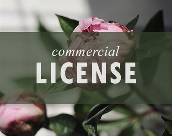 Commercial use license for digital clipart designs