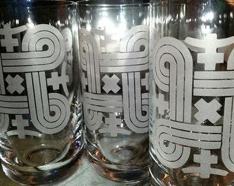 Finnish Symbol Glassware