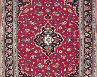 Persian rug-Keshan kurk-147 x 112 cm. -Hand-knotted (# 356749)