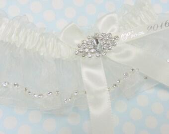 White Prom Garter,  Prom Garters,  Wedding Garter