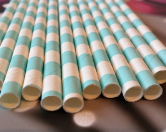 Lot of 12 blue square straw