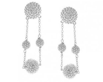 Classic Beaded Maggies in Sterling Silver
