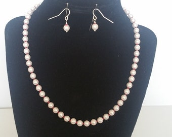 Pink Beauty Homemade Jewelry Set