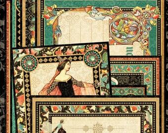 Graphic 45 Ephemera & Journaling Cards Enchanted Forest - Enchanted Forest Ephemera Cards - Graphic45 Ephemera Cards - Journaling Cards