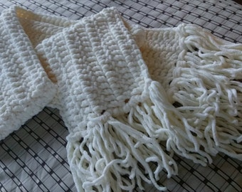 Large Crochet scarf made to order