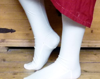 Stockings 100% cotton, made to measure. 18th century, replica, rococo, baroque, empire
